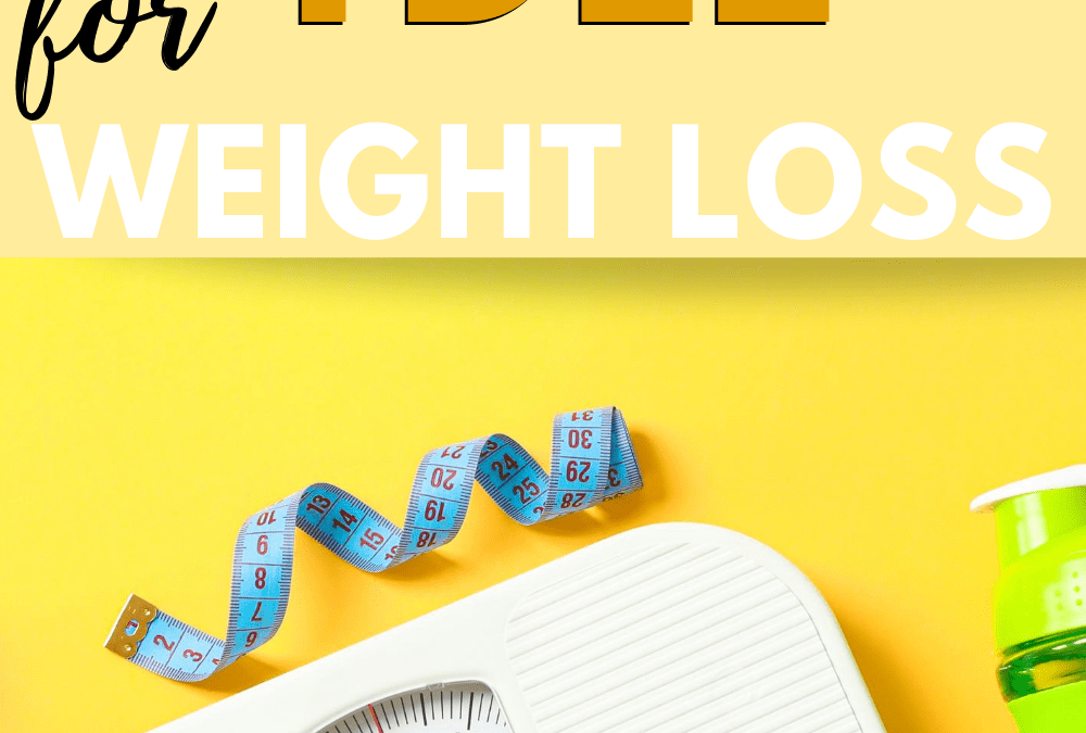 How to easily use TDEE to lose weight right now?!