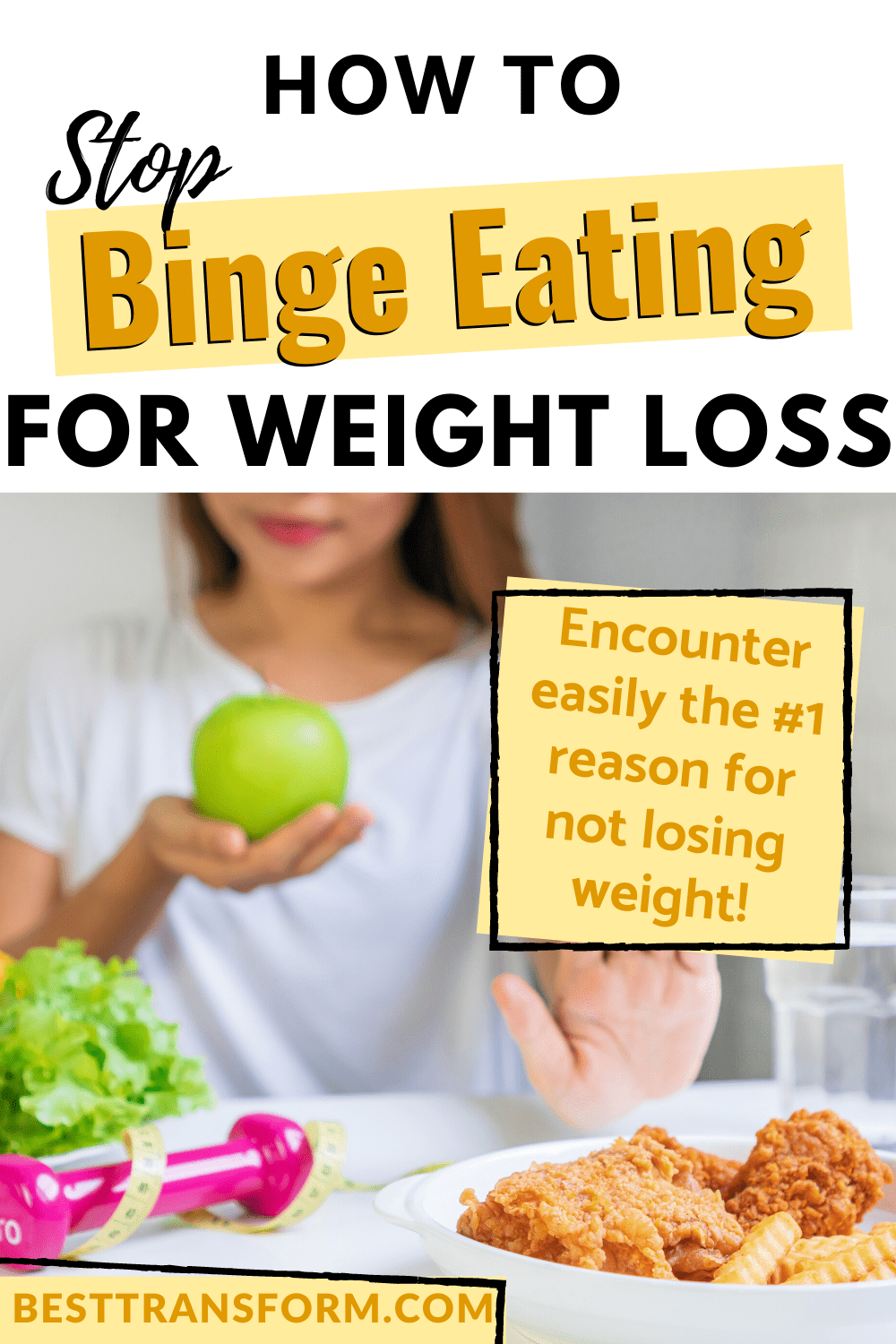 How to Stop Binge Eating for Weight Loss