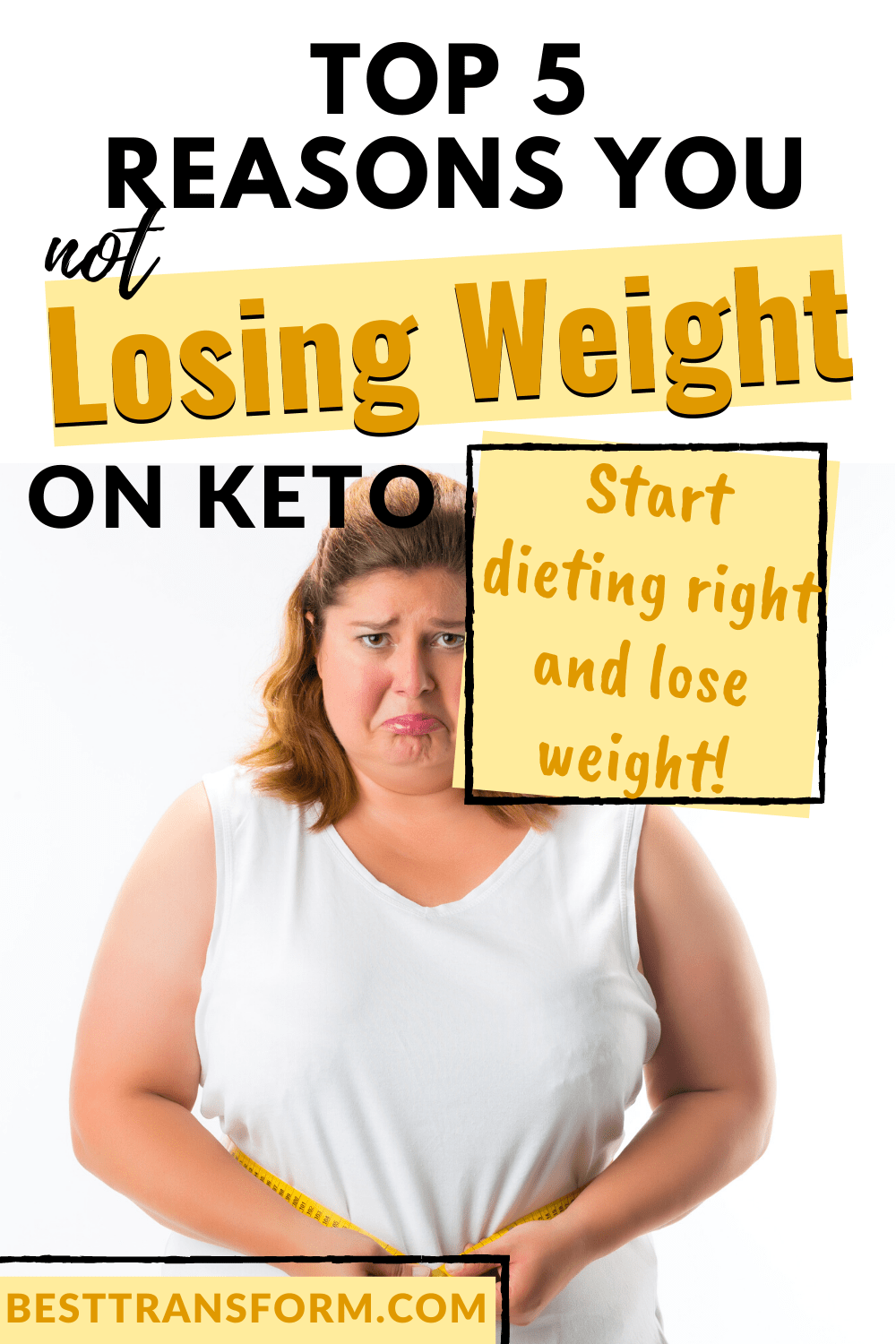not losing weight on Keto