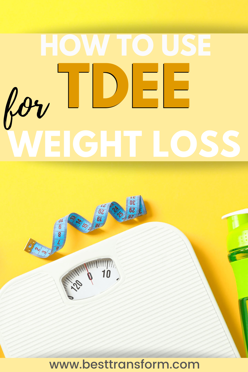 TDEE to lose weight